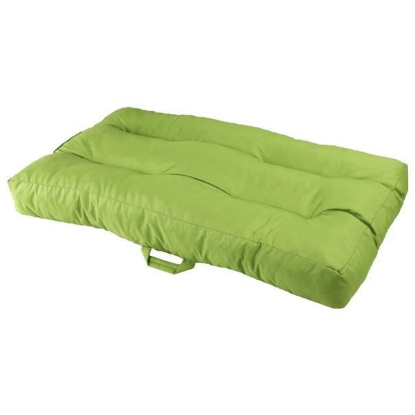 Sconto Sedák na paletový nábytok GARDEN limetkovo zelená