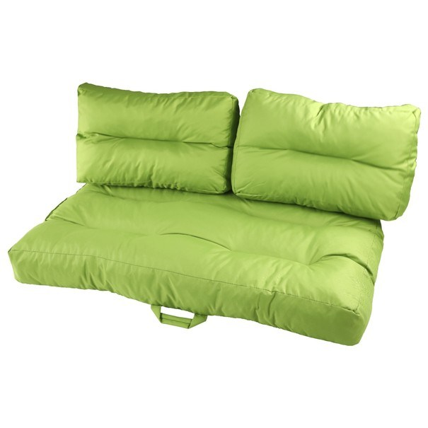 Sedák na paletový nábytek  GARDEN limetková 3