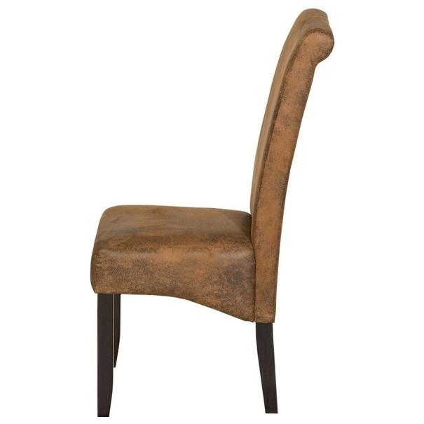 Jídelní židle GASPARO hnědá 3