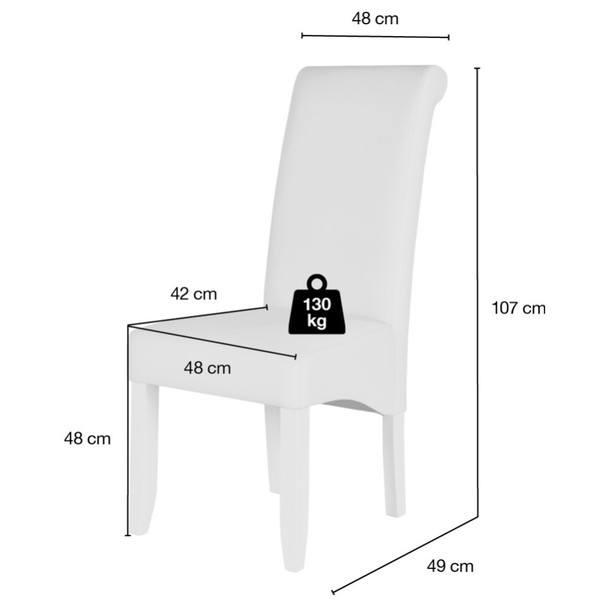 Jídelní židle GASPARO hnědá 5