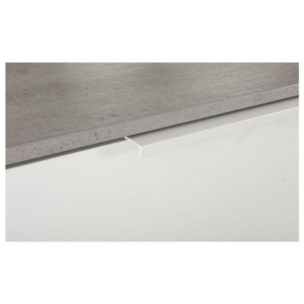Komoda GAVERA bílá/beton 3