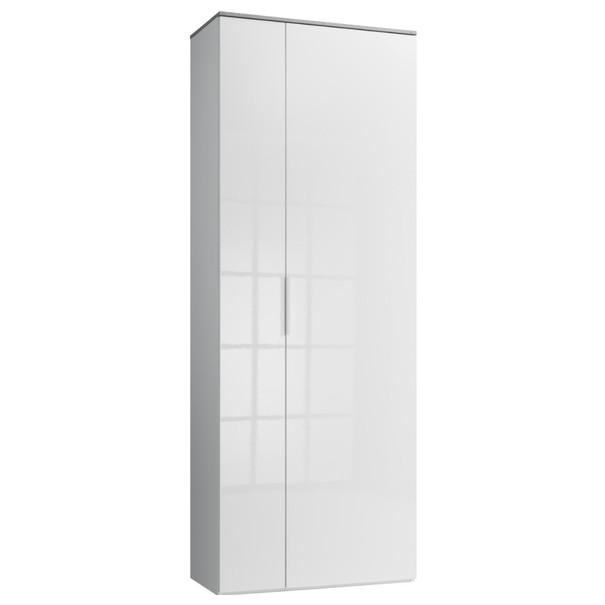Skříň GAVERA bílá/beton 1