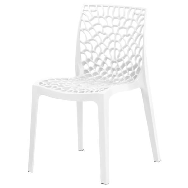 Jedálenská stolička GENESIS biela 1