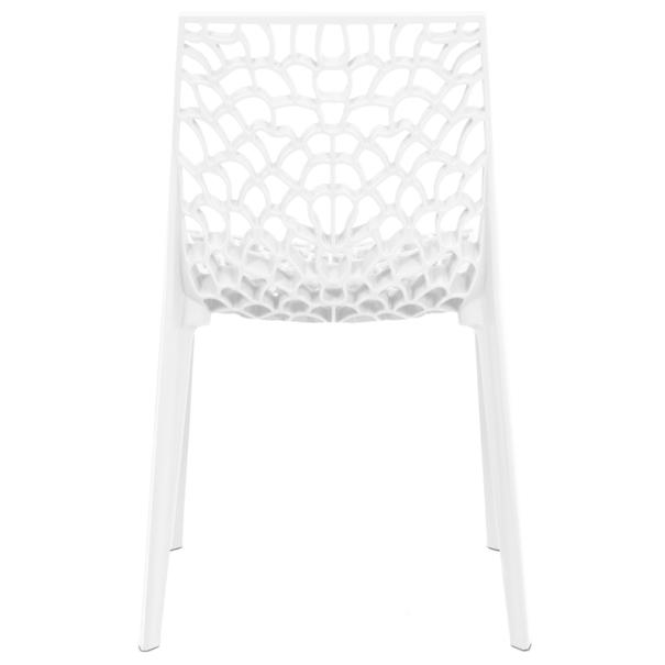 Jedálenská stolička GENESIS biela 4