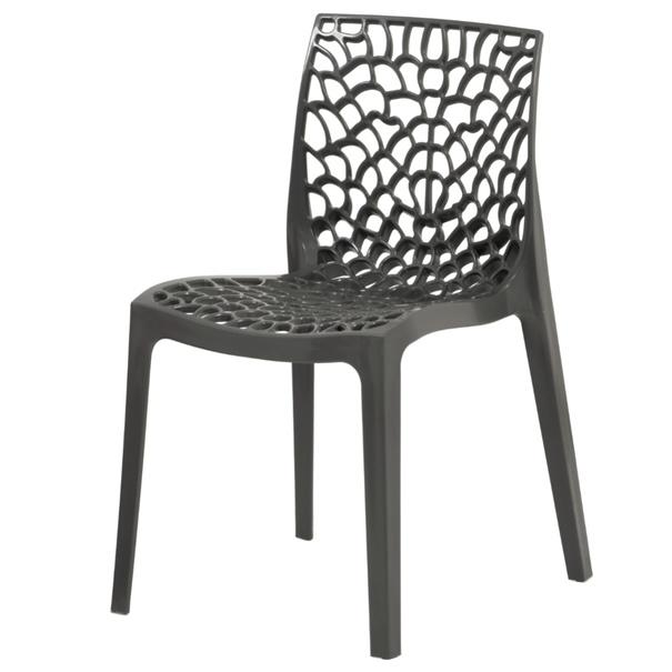 Jídelní židle GENESIS šedá 1