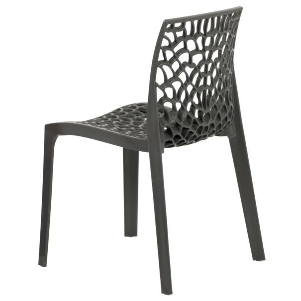 Jídelní židle GENESIS šedá 3