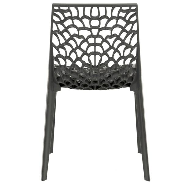 Jídelní židle GENESIS šedá 4