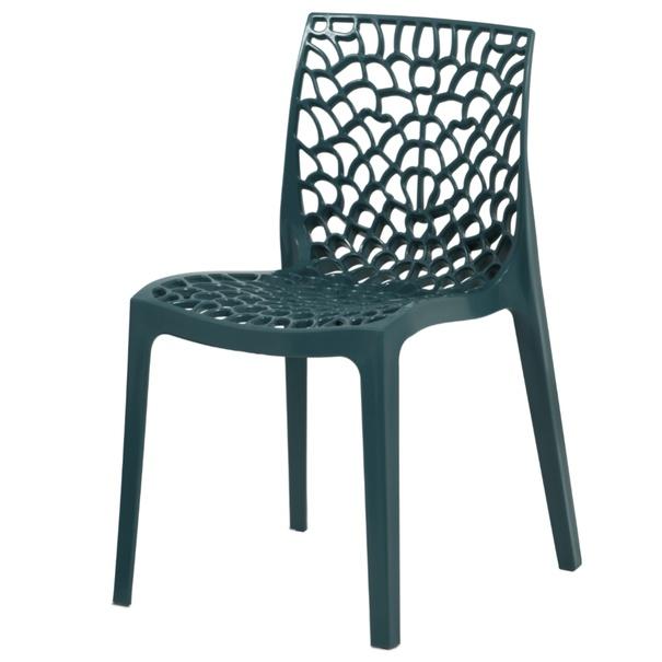 Jídelní židle GENESIS petrolejová 1
