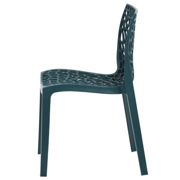 Jídelní židle GENESIS petrolejová 2