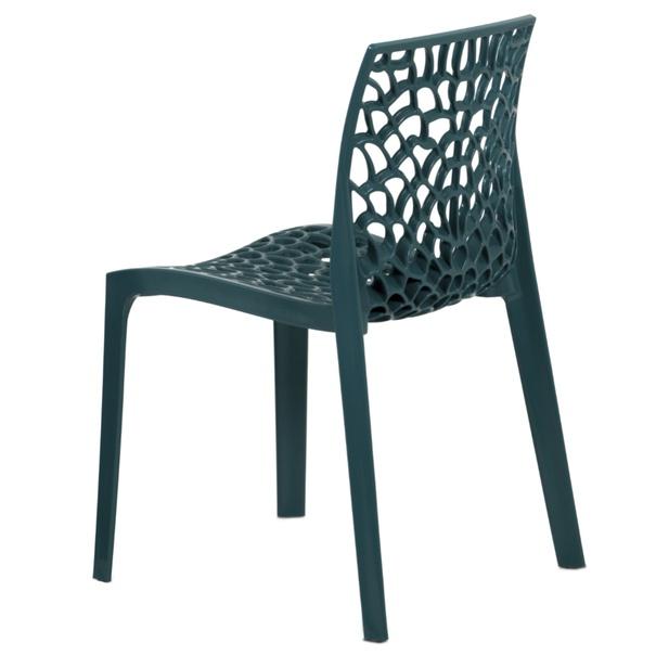 Jídelní židle GENESIS petrolejová 3