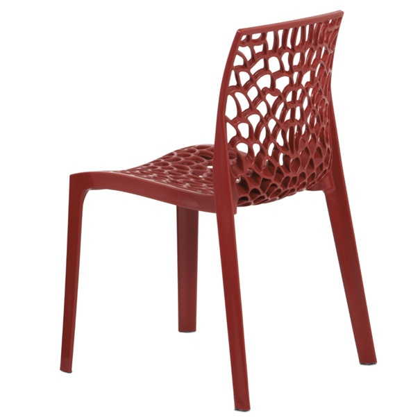 Jedálenská stolička GENESIS červená 3