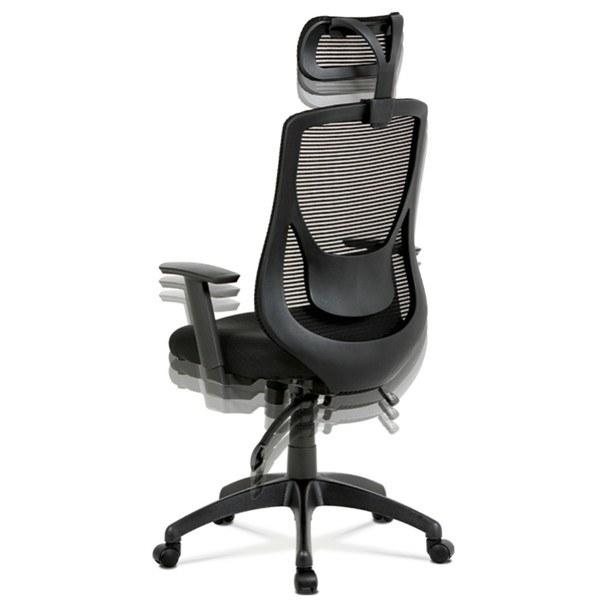 Kancelářská židle GEORGE černá 9