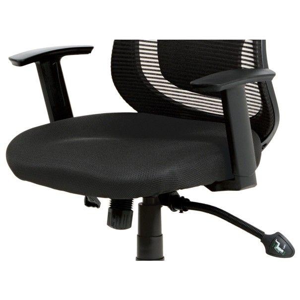 Kancelářská židle GEORGE černá 12