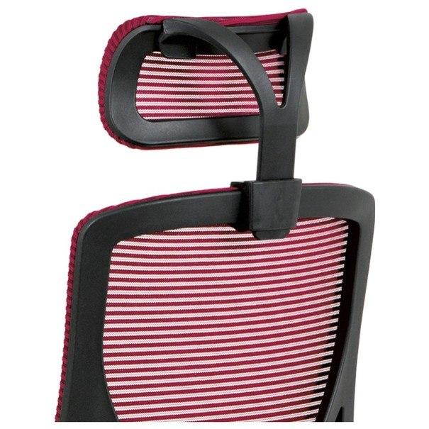 Kancelárska stolička GEORGE červená/čierna 9