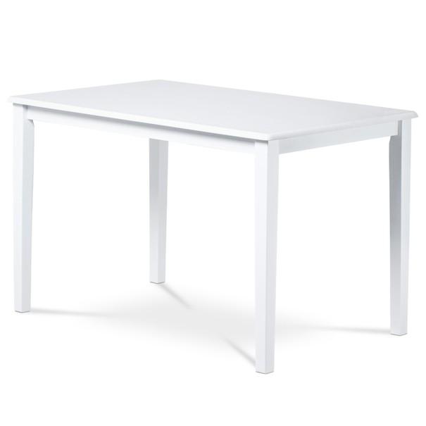 Sconto Jídelní stůl GEPARD bílá - nábytek SCONTO nábytek.cz