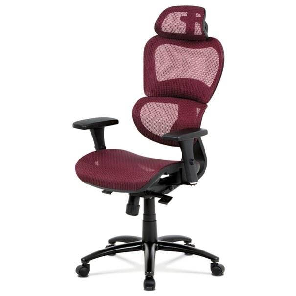 Kancelářská židle GERRY červená 1
