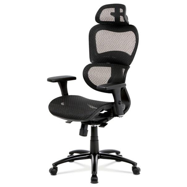 Sconto Kancelárska stolička GERRY čierna