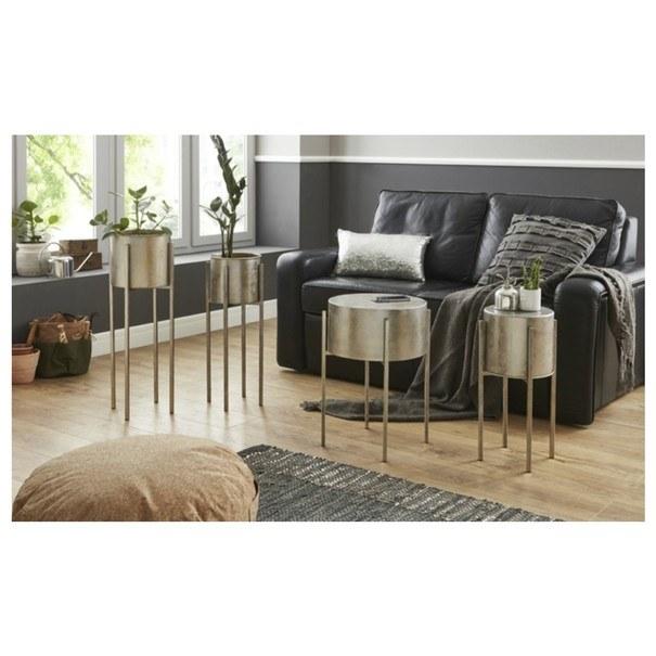 Odkládací stolek/květináč GINA výška stolu 71 cm/ø 24 cm 2
