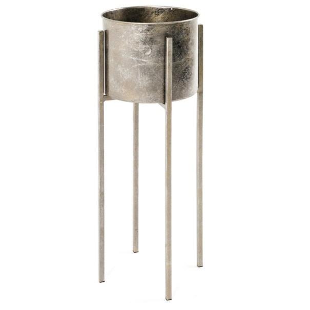Sconto Odkladací stolík/kvetináč GINA výška stola 71 cm/ø 24 cm