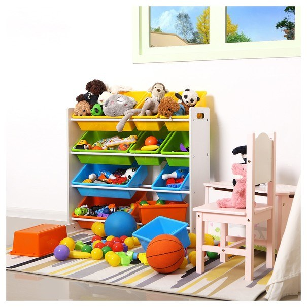 Dětský regál GKR04W vícebarevná 8