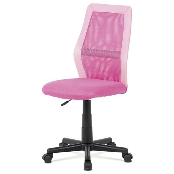 Kancelářská židle GLORY růžová 1