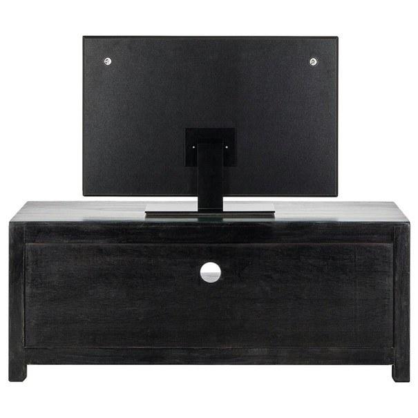 TV stolek GOA  mangovník/akácie/kovové aplikace 5