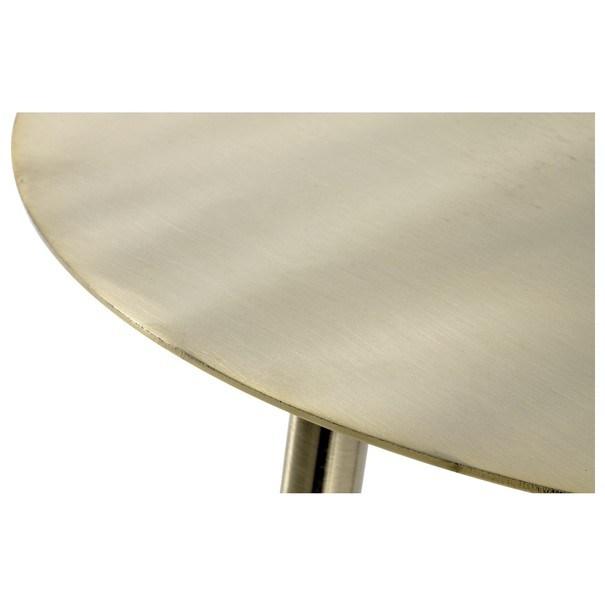 Přístavný stolek GOLDEX 2 zlatá 2