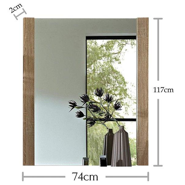 Zrcadlo GOLF 12 dub sonoma 4