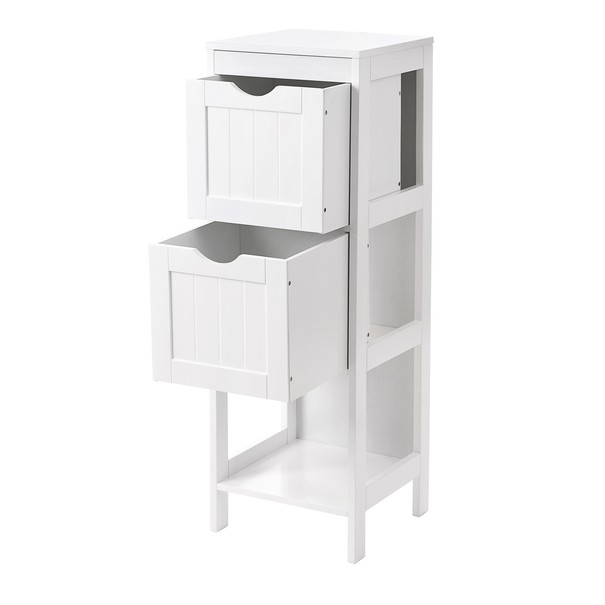 Koupelnová skříňka GORDES bílá 3