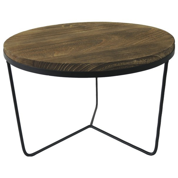 Přístavný stolek  GORDON 2 pavlovnie/kov 1