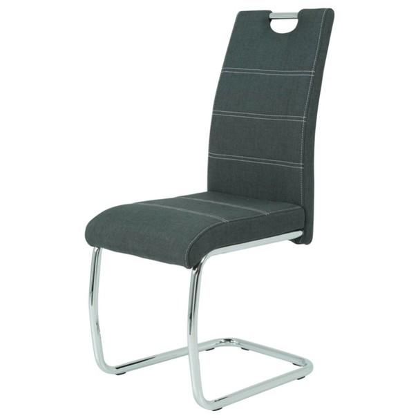 Jedálenská stolička GRETA S antracitová 1