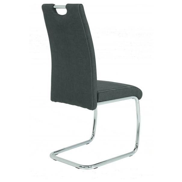 Jedálenská stolička GRETA S antracitová 2