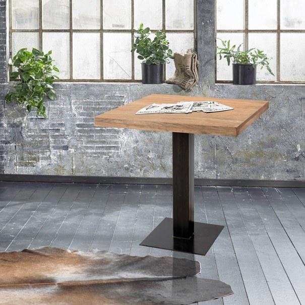 Jedálenský stôl GURU akácia/sivá 2