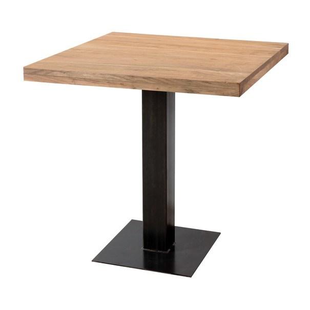 Jedálenský stôl GURU akácia/sivá 1