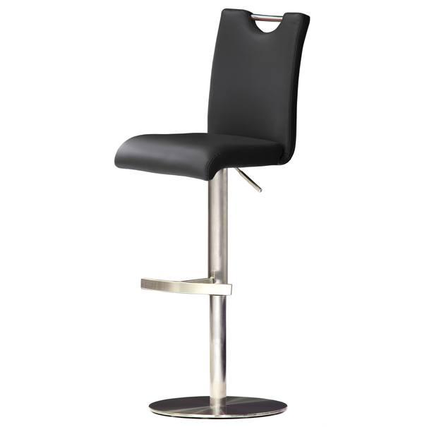 Barová stolička HAILEY 3 čierna 1
