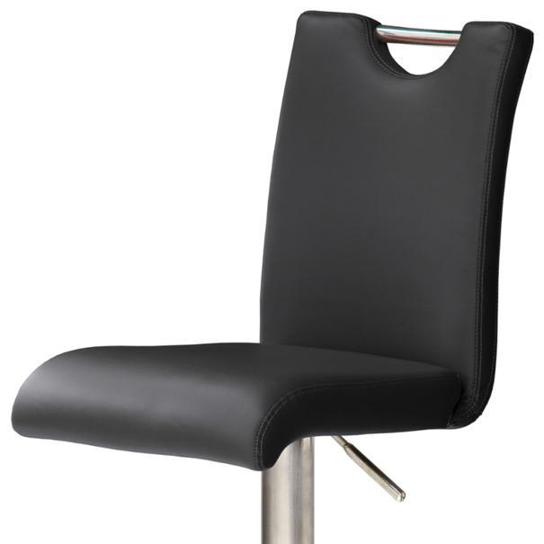 Barová stolička HAILEY 3 čierna 2