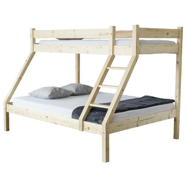 Patrová postel HANNA dekor smrk, 140x200 cm 1