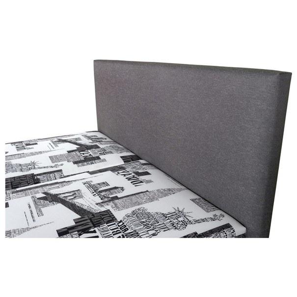 Postel HEDVIKA šedá/vícebarevná, 160x200 cm 3