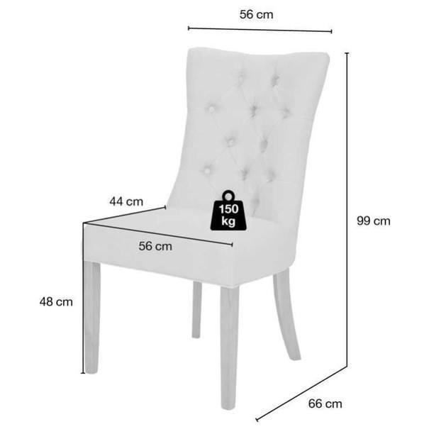 Jídelní židle HENNIG šedá 9