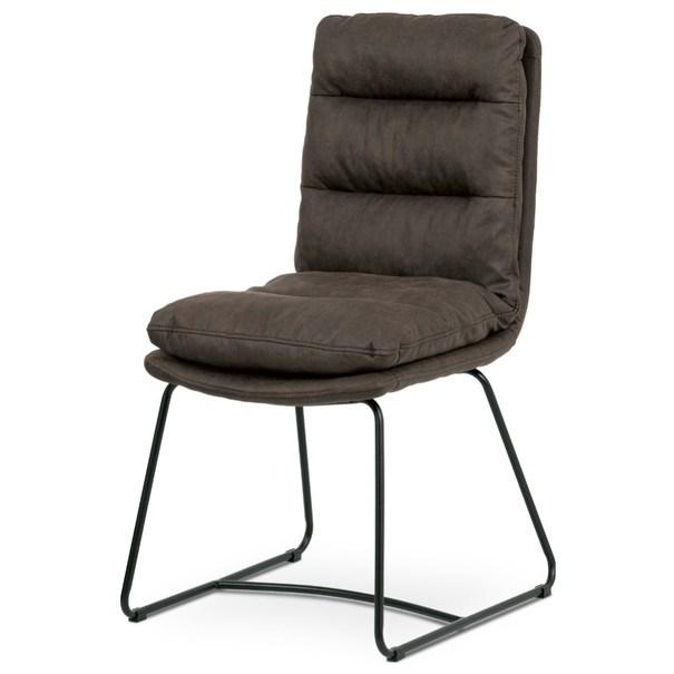 Jídelní židle HERMINA hnědá 1