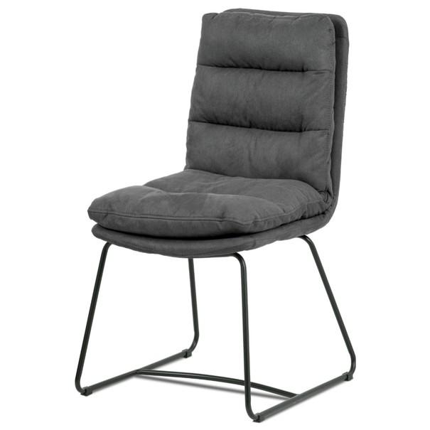 Jídelní židle HERMINA šedá 1