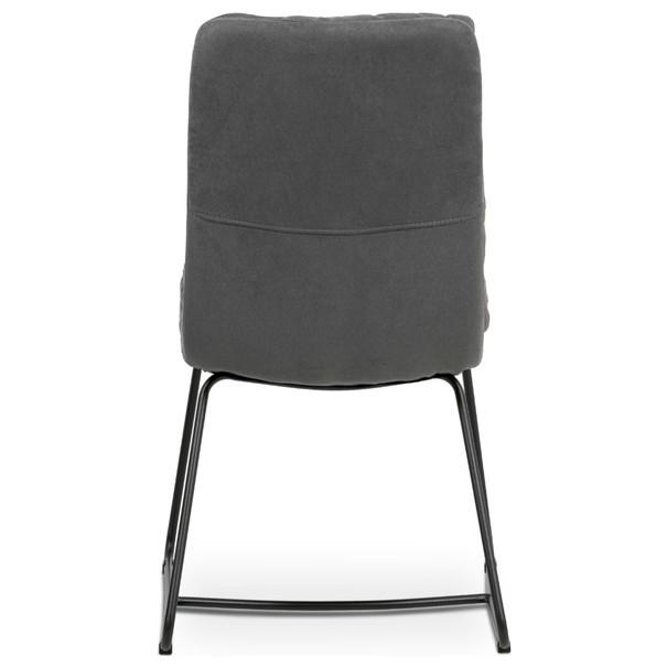 Jídelní židle HERMINA šedá 5