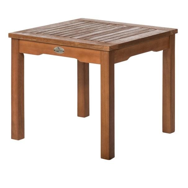 Sconto Zahradní stolek HOLSTEIN eukalyptus - nábytek SCONTOnábytek.cz