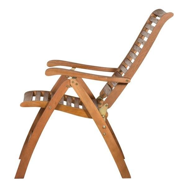Polohovací židle HOLSTEIN eukalyptus 3