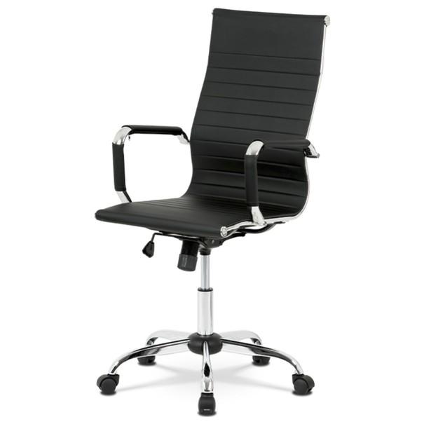 Sconto Kancelárska stolička HUGO čierna