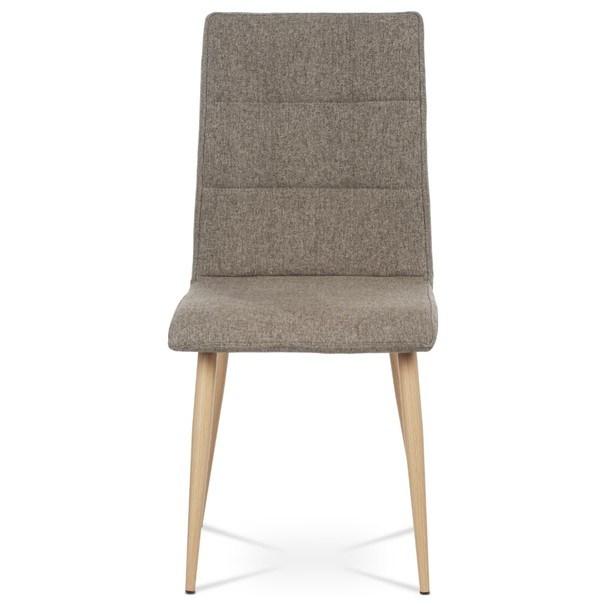 Jedálenská stolička IDA sivá/buk 4