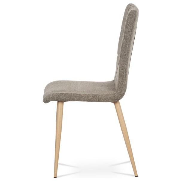 Jedálenská stolička IDA sivá/buk 5