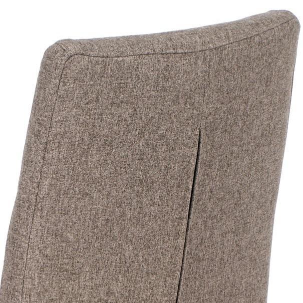 Jedálenská stolička IDA sivá/buk 7