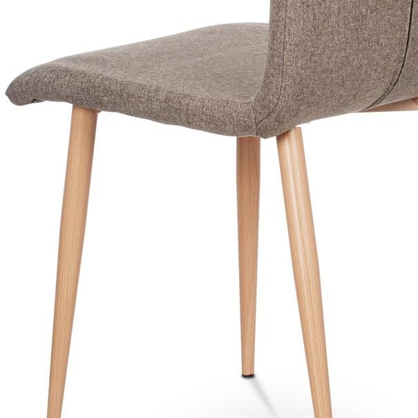 Jedálenská stolička IDA sivá/buk 8
