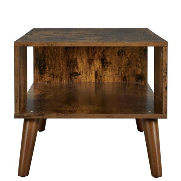 Konferenční stolek IMATRA černá/hnědá 6